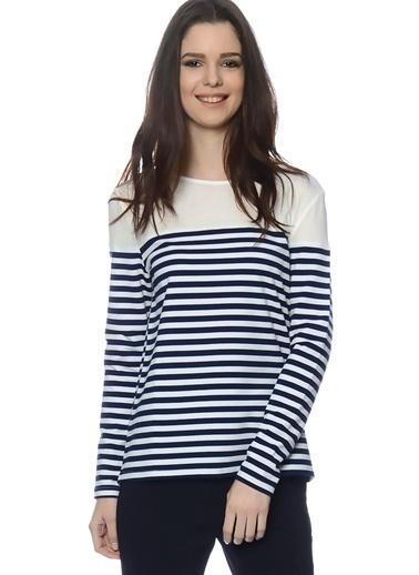 Unique Bluz Lacivert